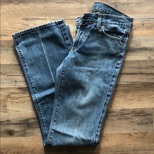 7 For All Mankind Jeans Bootcut size 27.
